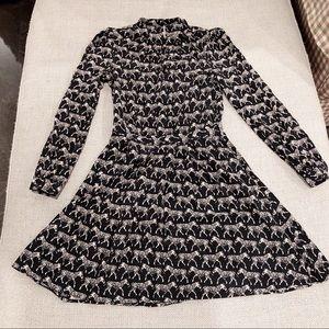 Other stories Black zebra dress 🦓